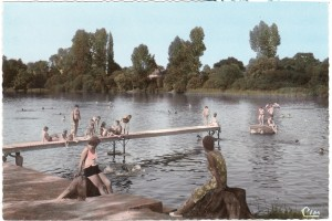 Queaux baignade1962